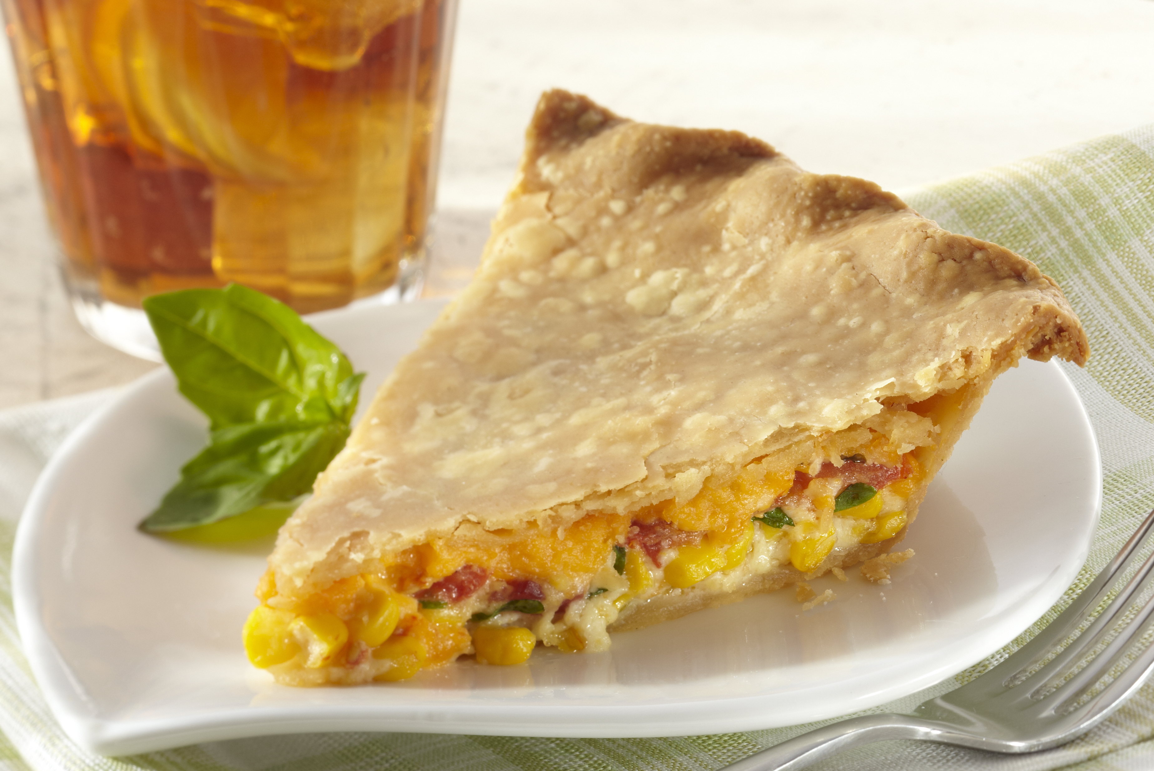 Corn, Tomato and Cheddar Pie - Butter Kernel
