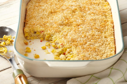 Old Fashioned Scalloped Corn Butter Kernel